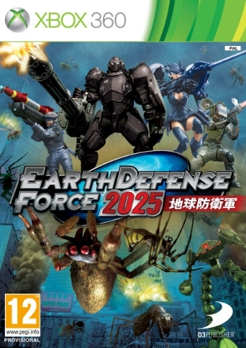 Earth Defense Force 2025 (Xbox 360)